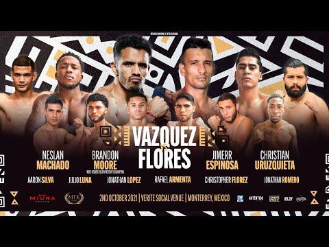 Miguel Vazquez vs. Oliver Flores / Мигель Васкес - Оливер Флорес