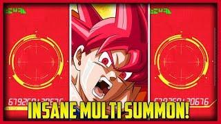 FINALLY I GOT HIM! INSANE MULTI SUMMON LUCK! | Dokkan Battle JP Extreme Banner Dokkan Fest!