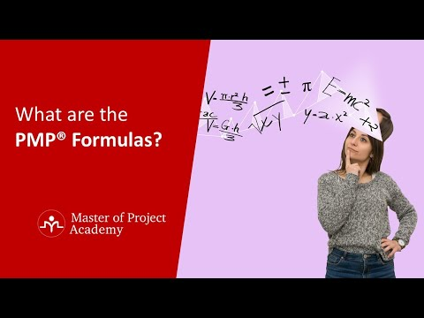 What are the PMP® Formulas and Earned Value Formulas for PMP ...