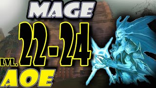 Classic WoW Mage AoE Leveling Guide: 24-28 (HORDE) - Clutch