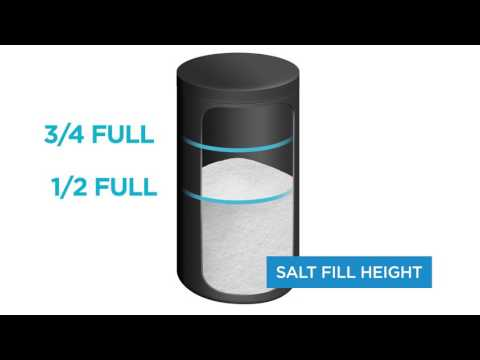 Watch this video to learn more about the proper salt levels and types to use with your Evolve Series softeners and conditioners.