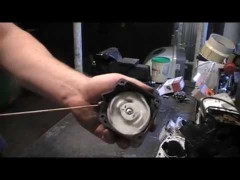 Ремонт стартера мотокосы, триммера