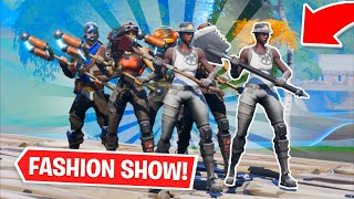 Fortnite | Fashion Show! Skin Competition! *MOST OG DUOS* & EMOTES WINS! [7/8]