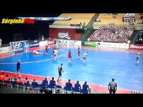 VIDEO: Sporting vs FC Barcelona 4-5 Futsal - Resumo e Golos - Master CUP 2015 (23/08/2015)