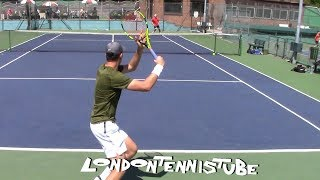 British D1 U. S. College Tennis : David Stevenson (Memphis Tigers) v Alex Jochim (IUPUI)