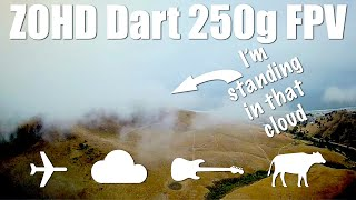 Flying With My Head In The Clouds - FPV with Zohd Dart 250g фото