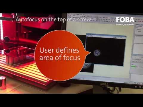 Laser Autofocus from FOBA