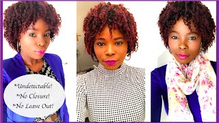 HOW TO do a Full Sew in Weave With no Leave Out   Quick and Detailed tutorial   Topac Jay