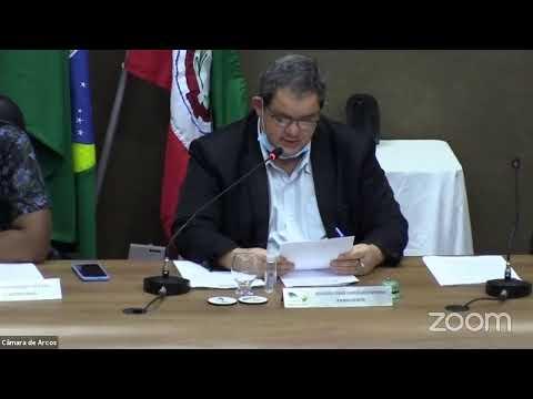 Reunião Ordinária (26/10/2020) - Câmara Municipal de Arcos