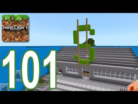Minecraft: PE – Gameplay Walkthrough Part 101 – Find The Button: City Edition (iOS, Android)