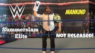 MANKIND ELITE My son Mickey reviews my MankindElite Summerslam exclusive on his