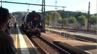 preview picture of video 'La 141 R 1126 de retour à Cahors'