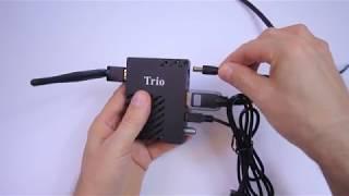 Trio IP TV Uydu Alıcı.