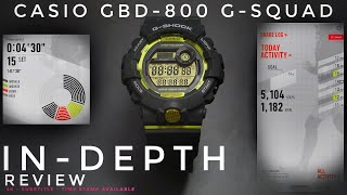Casio GBD-800-8JF G-Shock Step Tracker watch unboxing & review