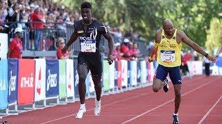 Saint-Etienne 2019 : Finale 200 m M (Mouhamadou Fall en 20''34)