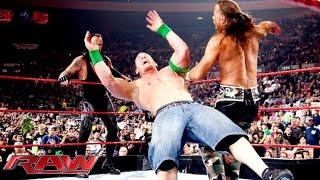 FULL-LENGTH MATCH - Raw - John Cena & The Undertaker vs. DX vs. Jeri-Show