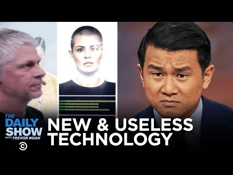 Today's Future Now - Stupid Stuff at the CES 2020 Tech Expo | The Daily Show (видео)