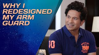 What made Sachin Tendulkar redesign his arm guard? Find out now!