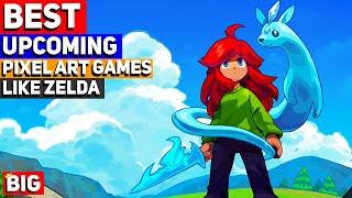 Top 20 Upcoming Pixel Art Games Like Zelda - 2020 & Beyond! (Action Adventure Games)