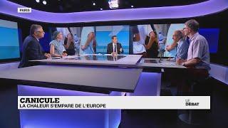 LE DÉBAT - Canicule : La Chaleur S'empare De L'Europe