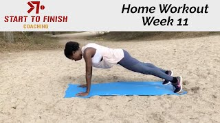 Home workout week 11