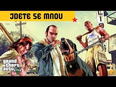 GTA V ONLINE   JDETE SE MNOU   STREAM CZ/SK (PC)