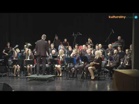 Koncert Zatorskiej Orkiestry Dętej podczas koncertu laureatów 42. Małopolskiego Festiwalu Orkiestr Dętych ECHO TROMBITY