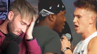KSI & Joe Weller FIGHT on STAGE! PewDiePie Says N-WORD on STREAM... Logan Paul HACKED & LEAKS DMs