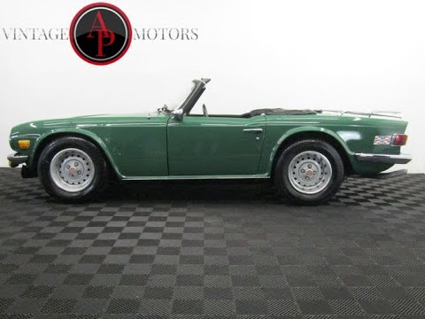 Video of '76 TR6 - QRPZ