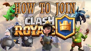 how to join tournament in clash royale [Gamer's War]