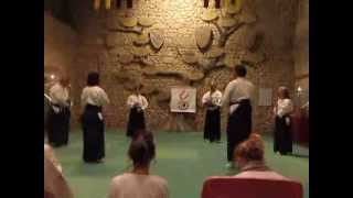 preview picture of video 'August 17, 2013 Waraku in the castle of Verucchio'