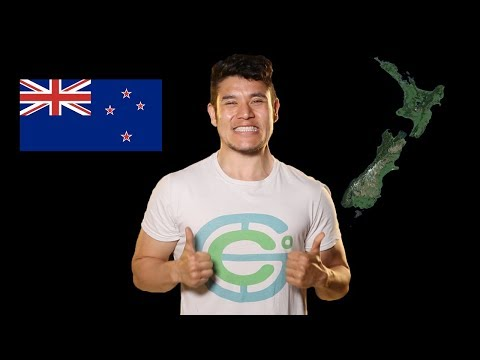 Nový Zéland - Geography Now!