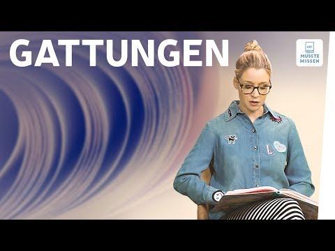 Literarische Gattungen I Epik I Lyrik I Dramatik I musstewissen Deutsch