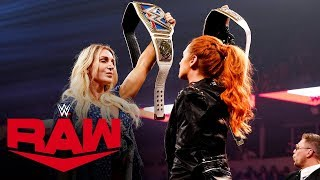 "Becky Lynch & Charlotte Flair trade verbal barbs on ""Miz TV"": Raw, Oct. 7, 2019"