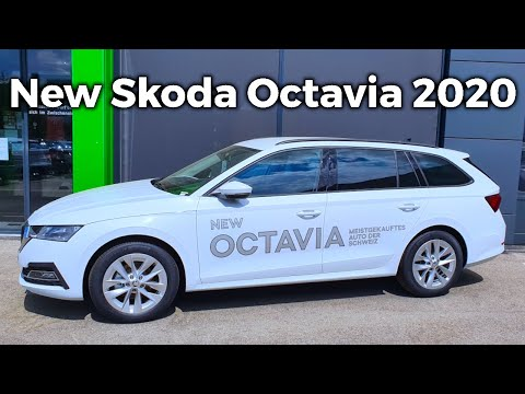 New Skoda OCTAVIA Combi Style 2020 Exterior Review & Price Detail