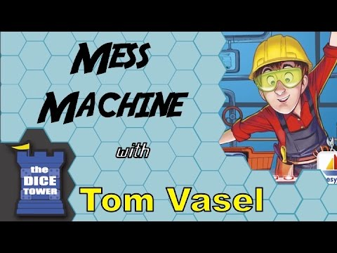 Dice Tower Reviews: Mess Machine