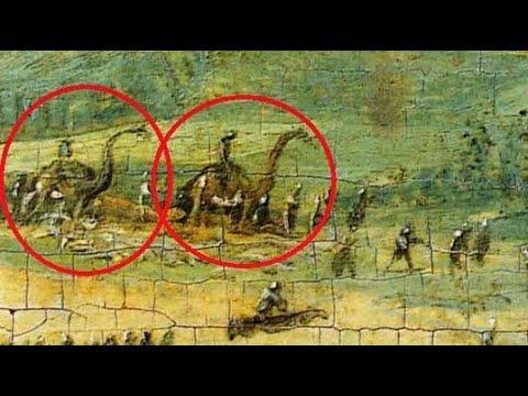Waarom zijn er dinosaurussen op dit 16e-eeuwse schilderij?