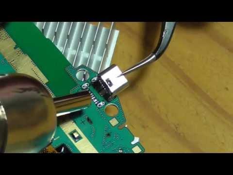 öffnen des Samsung GALAXY Tab3 defekte Micro USB Buchse ausbauen
