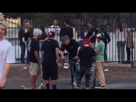 1st Annual Joey Meyers Vacaville Skatepark Comp 2015