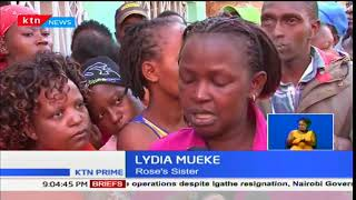 Sombre mood in Juja after a middle-aged man kills his entire family and then took his own life