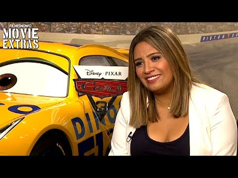 Cars 3 (2017) Cristela Alonzo talks about her experience making the movie