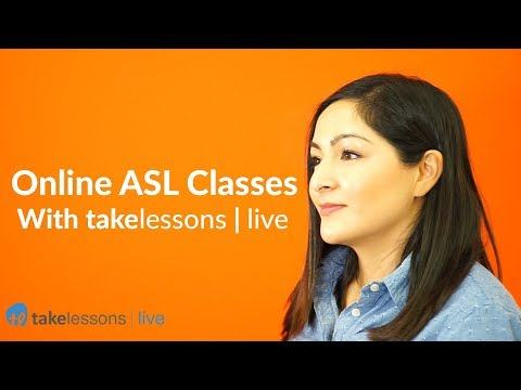 What's it Like to Take Online ASL Classes? (TakeLessons Live ...