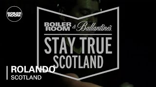 DJ Rolando - Live @ Boiler Room & Ballantine's Stay True Scotland