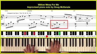 Willow Weep For Me (piano solo version)