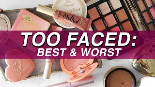 5 BEST & 5 WORST: TOO FACED | Jamie Paige - Video Youtube
