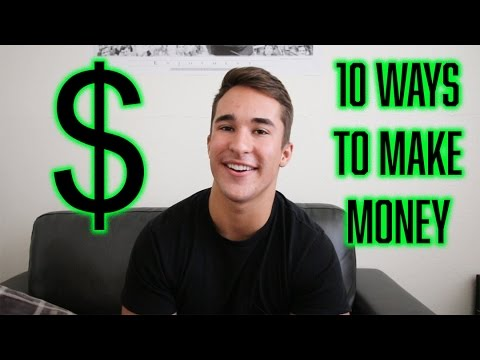 10 WAYS TEENAGERS CAN MAKE MONEY