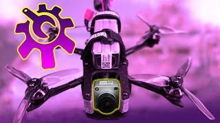 Mini Freestyle Quad mit DJI Digital FPV selbst gebaut / DIY Drohne