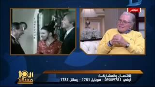 العاشرة مساء  حسين فهمى يحكى ذكرياته مع سعاد حسنى فى فيلم خلى بالك من زوزو