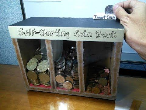 Πως να φτιάξετε έναν κουμπαρά που διαχωρίζει τα κέρματα