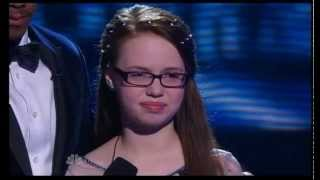 America's Got Talent Semi Final 2014, 12 yo Mara Justine singing Break Away - Video Youtube